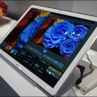 (CES 2013) Panasonic presenta la primera tablet con resolución 4K