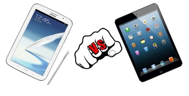 Samsung Galaxy Note 8.0 vs. Apple iPad mini
