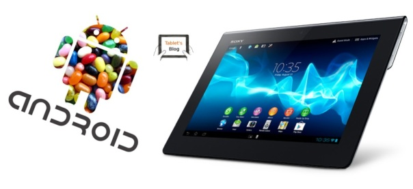 Xperia Tablet S recibirá Jelly Bean a final de mes