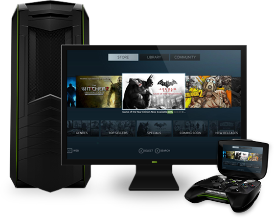 NVIDIA Shield PC Streaming