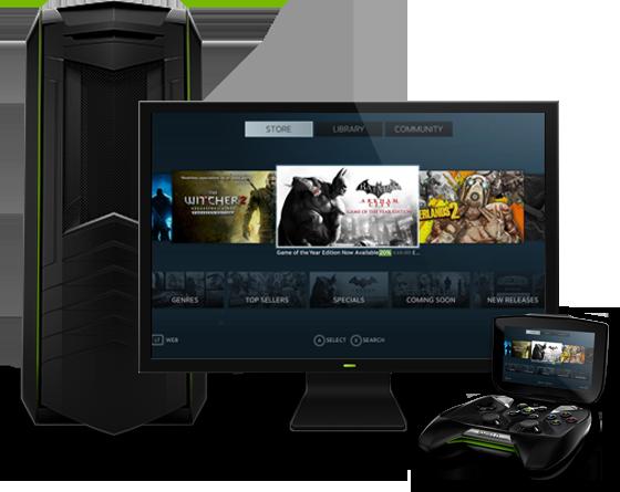 NVIDIA Shield PC Streaming
