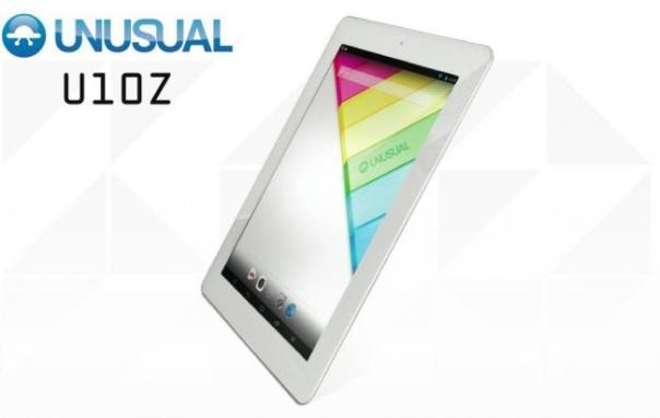 UNUSUAL U10Z, la nueva tablet de la firma española Nvsbl