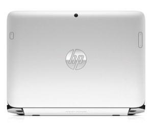 La cámara trasera y el logo de HP rematan la parte de atrás