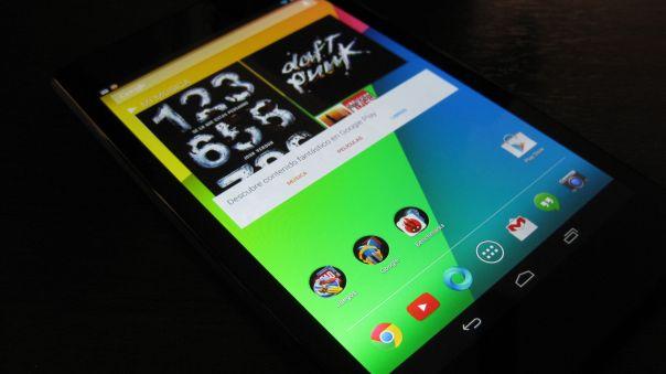 Nexus 7 (2013), software