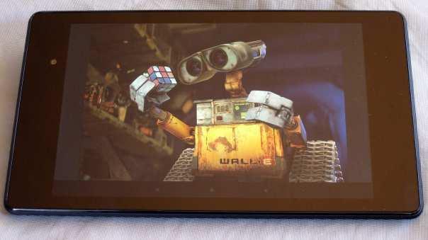 Nexus 7 (2013), pantalla