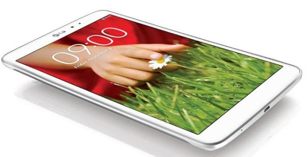 LG G Pad 8.3 blanca