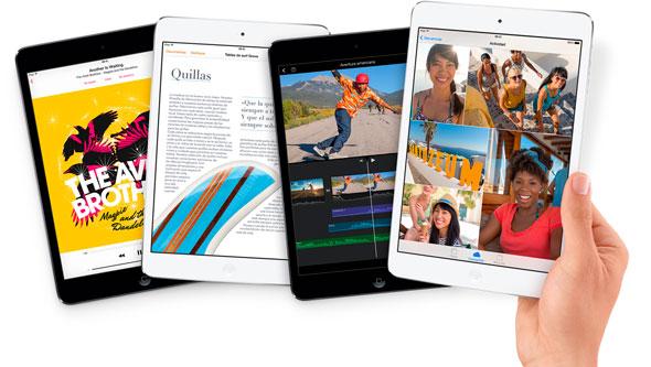 iPad mini con pantalla Retina