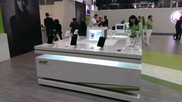 Stand tablet de Acer en el MWC 2013,
