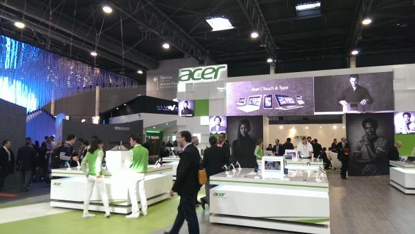 Stand de Acer en el MWC 2013