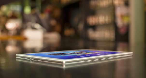 Xperia Z4 Tablet perfil